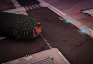 sci fi game mat