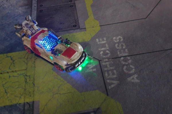 Adding LEDs to Gaslands Cars