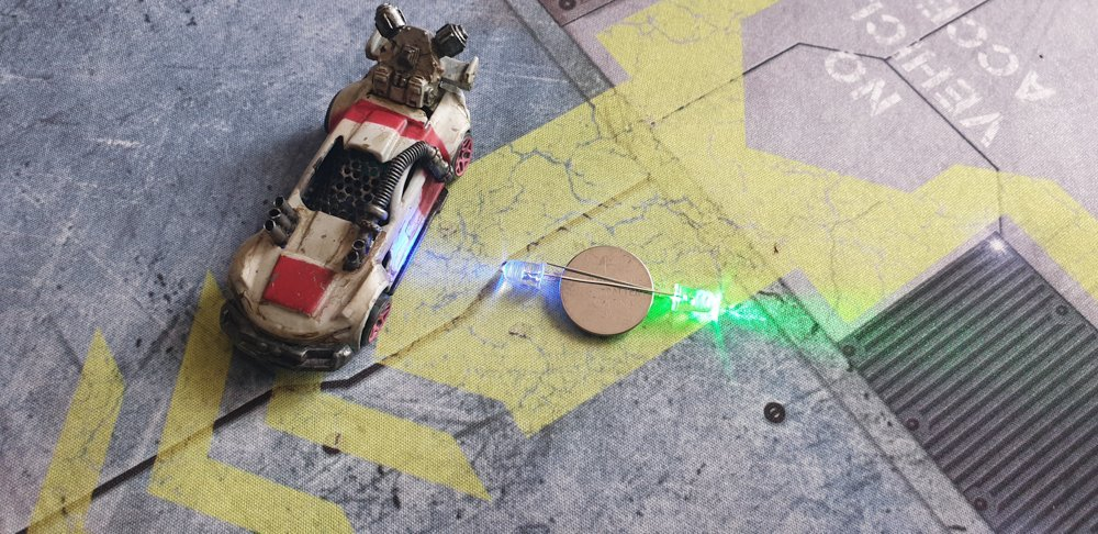 led battery powered miniatures