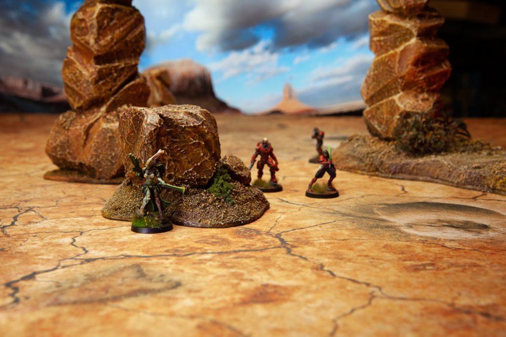 desert game mat