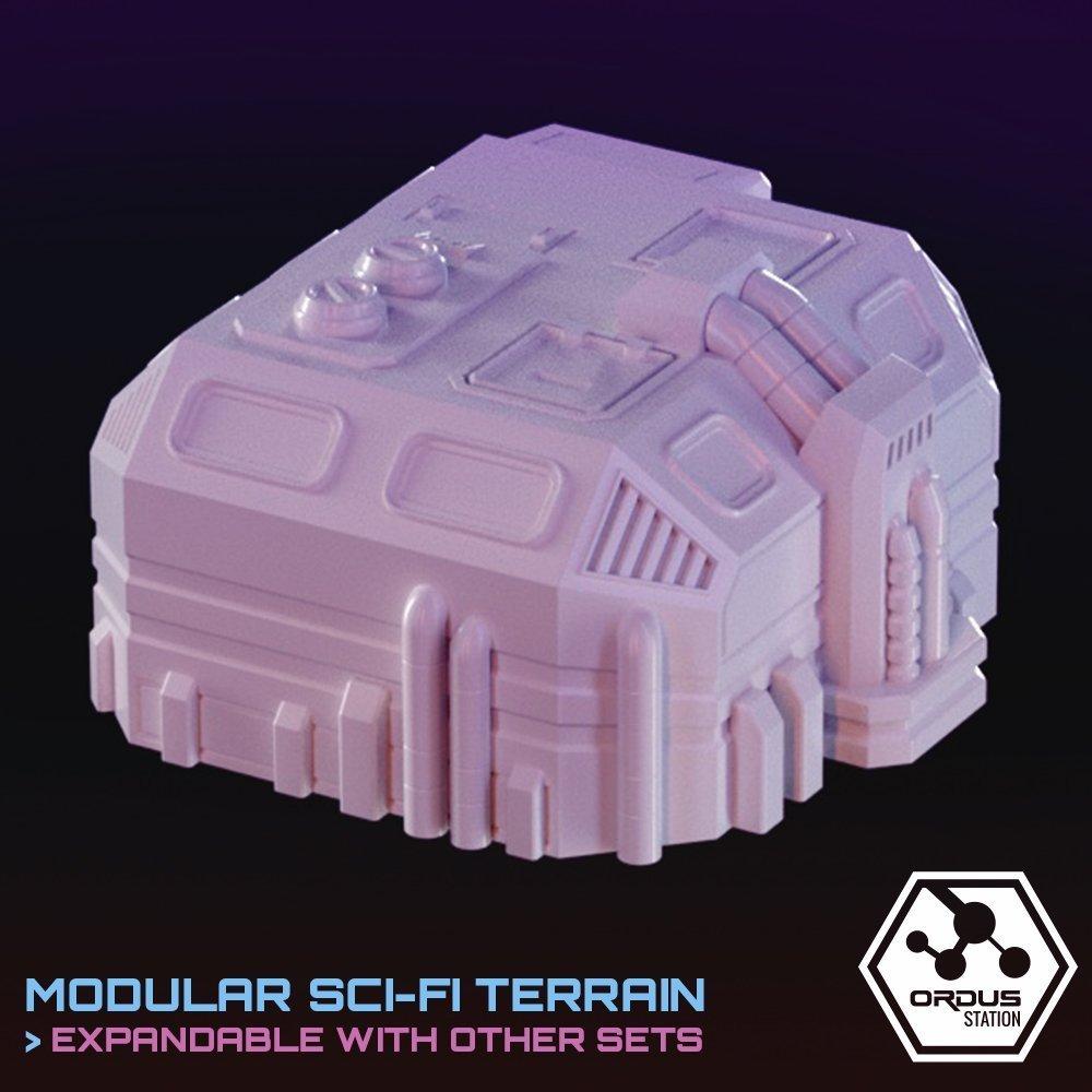 Micro Hab Unit STL 3D printable