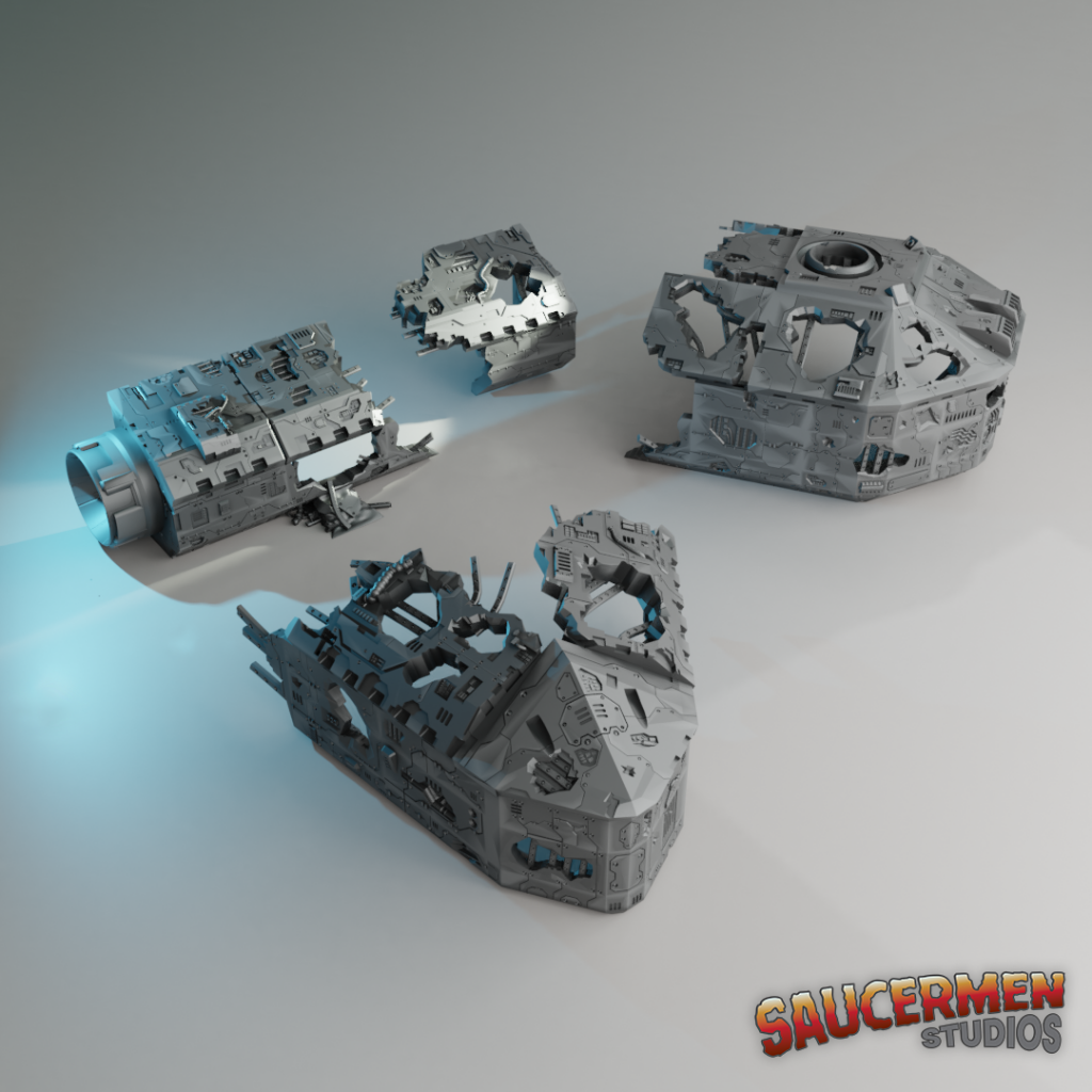 Lost Colony: Spaceship Graveyard (teasers)