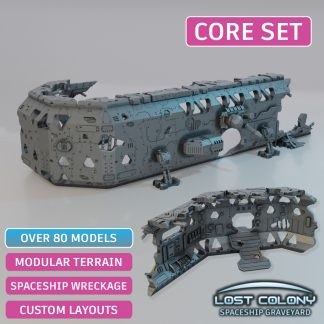 Spaceship Graveyard Core Set