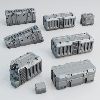 3D printed shipping containerscrates