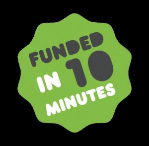 Funded on Kickstarter
