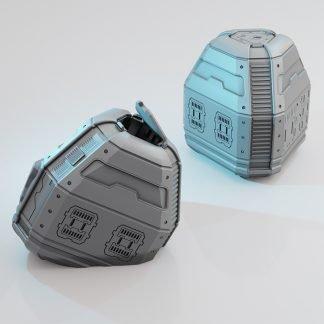 3d printed escape / life pods