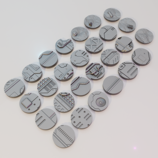 32mm sci fi bases