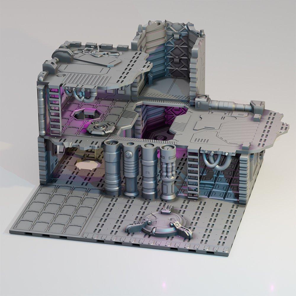 Lost Colony: Spaceship Graveyard – Internals UPGRADES STL 3D printable