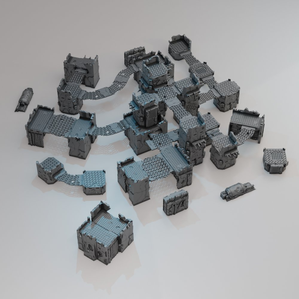 Lost Colony: Survivor Outpost STL 3D printable